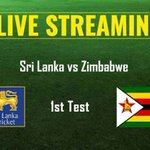 Sri Lanka vs Zimbabwe 1st Test Live Streaming: When and where to watch Test, live TV coverage, time inIST