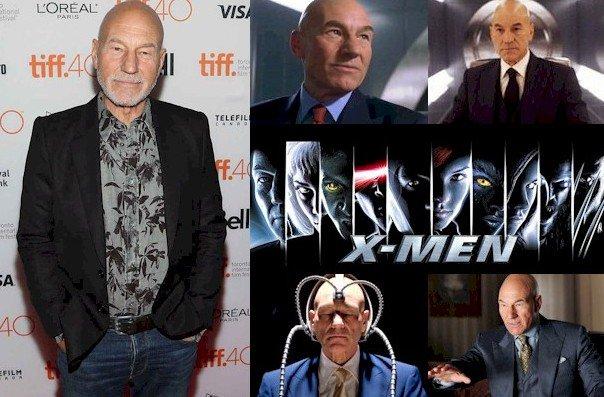 Hoy cumple 77 años Patrick Stewart (Charles Xavier en Happy Birthday