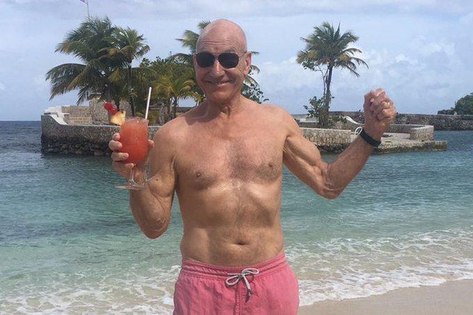 77 Jahre und immer noch voll im Leben - Happy Birthday Patrick Stewart!