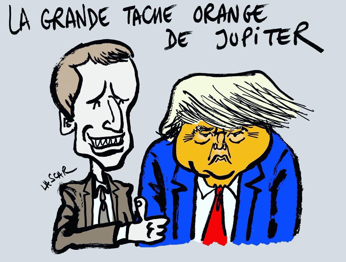 RT @Sciences_Avenir: La grande tache rouge de Jupiter vire à l'orange #TrumpParis https://t.co/zL2chTosKy https://t.co/1pGi2ng1q0