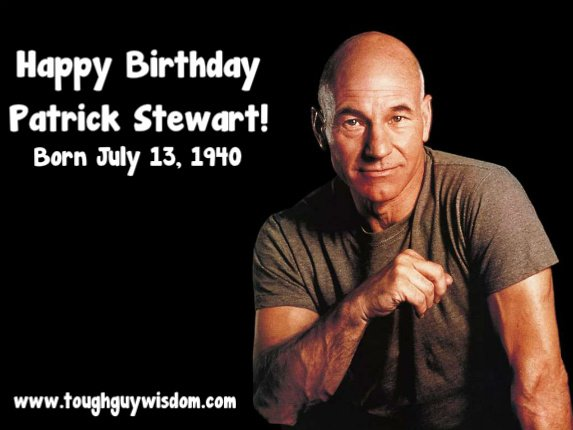 Happy 77th Birthday Patrick Stewart!