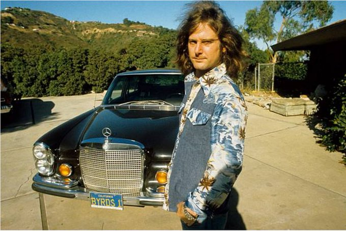 I\m happy with the Byrds as a good memory. Happy birthday Roger McGuinn. Photo: Gijsbert Hanekroot, Malibu, 1974