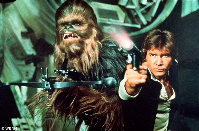 Happy 75th Birthday to Harrison Ford (right)