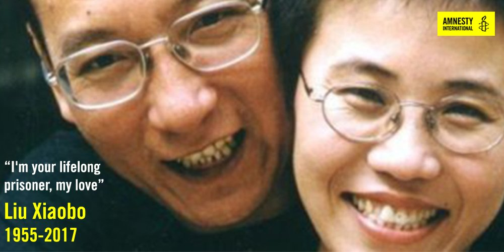RIP, #LiuXiaobo. Thank you for everything you've done. https://t.co/FmZDhgtKbt https://t.co/DtrL2p5FEr