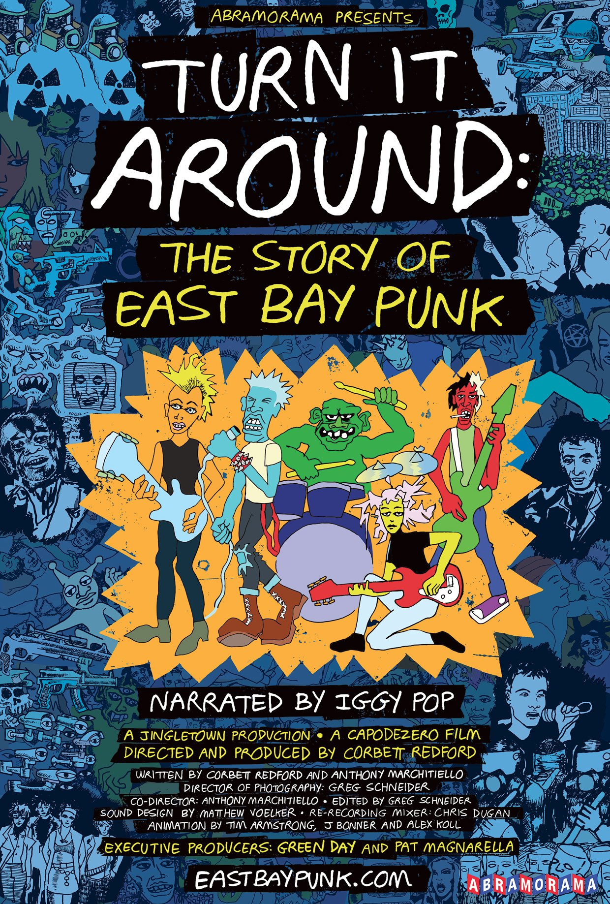 NATIONAL THEATRICAL TOUR FOR  TURN IT AROUND: THE STORY OF EAST BAY PUNK  https://t.co/ZTuh4h7RuE https://t.co/ShJlmbdblv