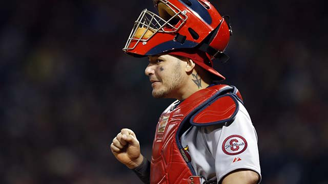 Happy birthday to future Hall of Fame catcher, Yadier Molina!
