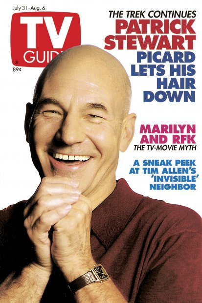 7/13 Happy Birthday to: Patrick Stewart, Cheech Marin, Colton Haynes, Robert Gant
