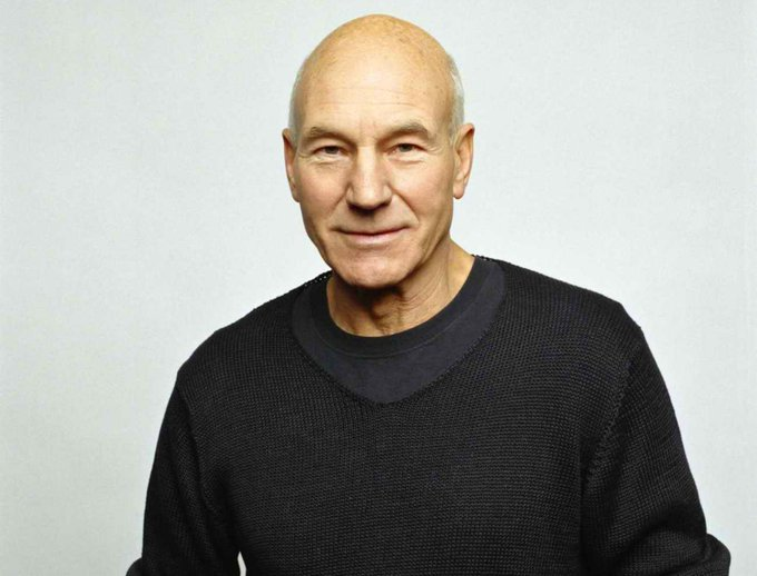 Happy birthday, Patrick Stewart.
