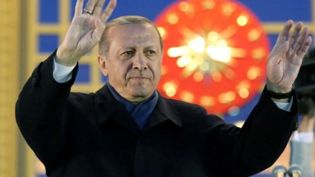 Turkey detains director of film 'on anti-Erdogan coup'