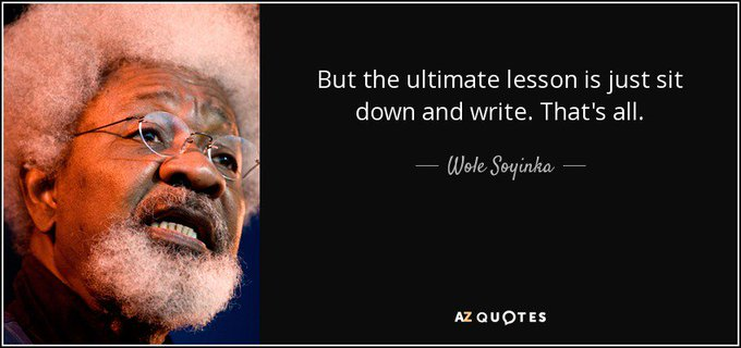 Happy Birthday to Nigerian playwright and poet Wole Soyinka!
