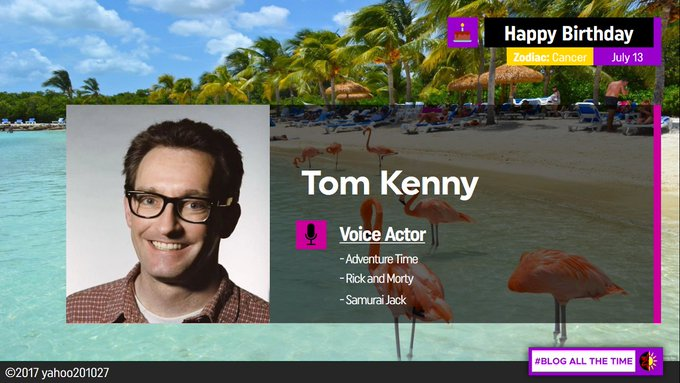 Happy Birthday to the Iconic Voice Actor, Tom Kenny.