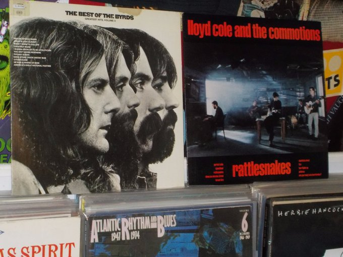 Happy Birthday to Roger McGuinn of the Byrds & Lawrence Donegan of the Commotions
