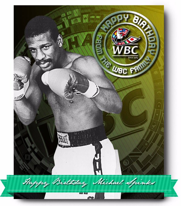 Happy birthday to Michael Spinks and Chad Dawson
