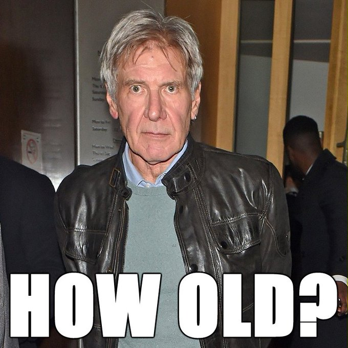 Happy Birthday Harrison Ford, who turns 75!