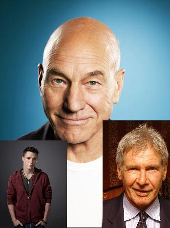 Happy Birthday to Colton Haynes, Harrison Ford, and Sir Patrick Stewart!!