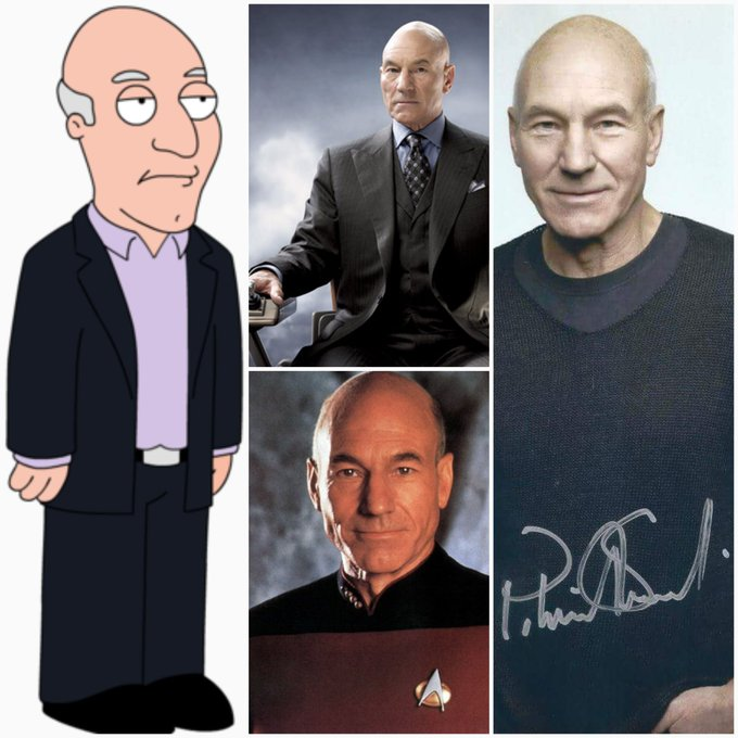 And a happy 77th birthday to the great Sir Patrick Stewart! If he wants a great day, I\m sure he can make it so!