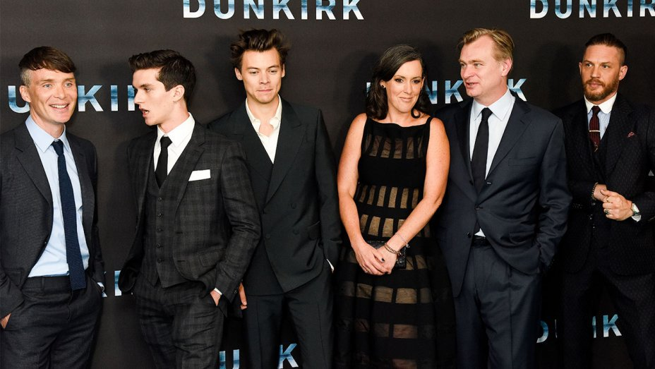Dunkirk: Christopher Nolan hails film's all-star ensemble at world premiere