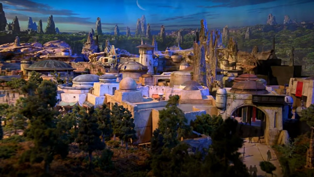 Disney unveils first look at StarWars land models ahead of D23 Expo