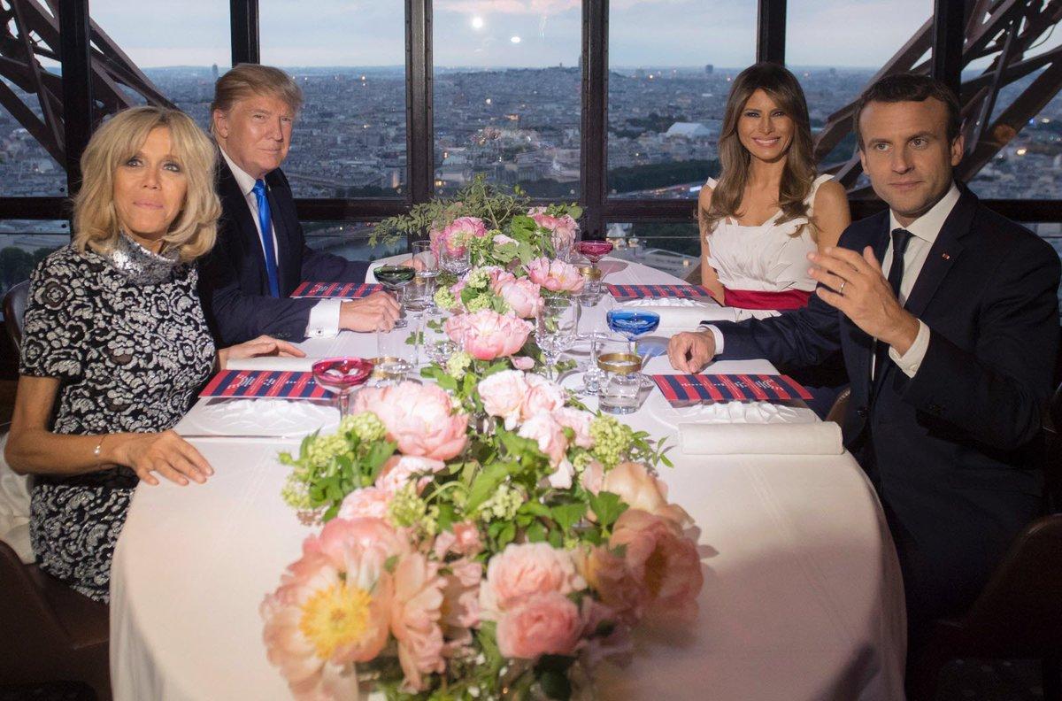 #TrumpParis