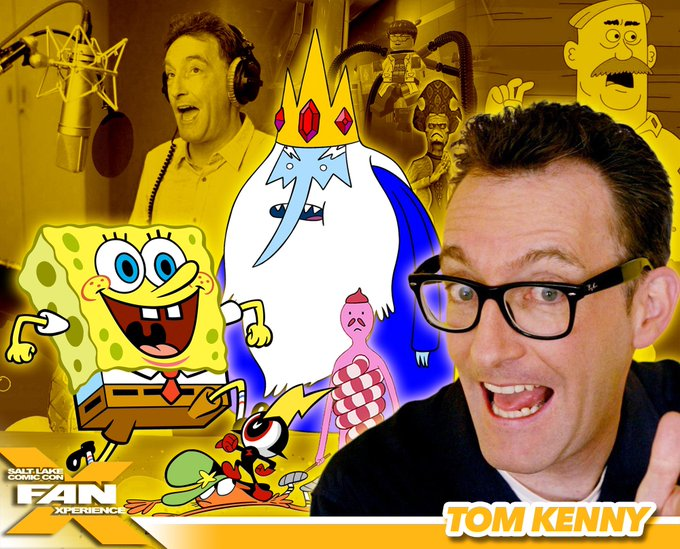 Happy birthday to the awesome Tom Kenny! The man of many voices!