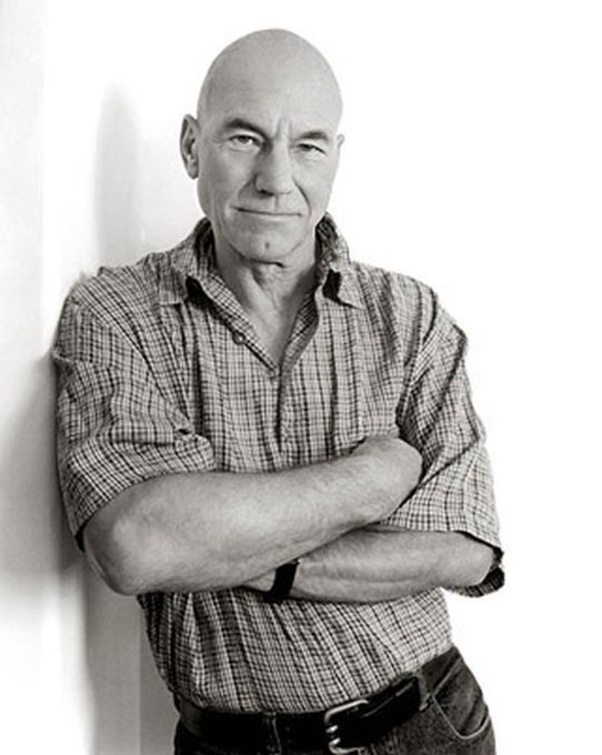 And a happy birthday to our *other* favorite stud from beyond the stars, Patrick Stewart!