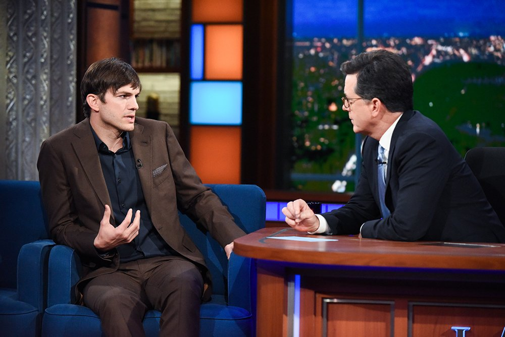 Thanks for having me @colbertlateshow. Tune in tonight on CBS @ 11:35 / 10:35c #theranch https://t.co/5KuN7JUehg