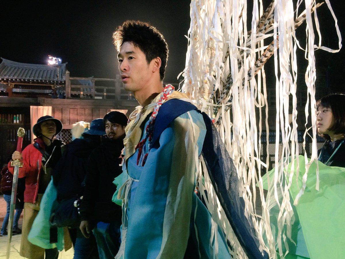 『精霊の守り人』シーズン1の夏至祭で水妖役を踊ってくれたキム・ドワン❗️昨年REVO『SESSION 』にも出演❗️鄭義