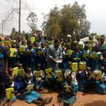 Bungoma school gets 98 tablets for digital learning - pupils, teachers, parents all smiles