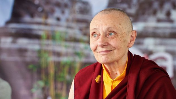 Tibetan Buddhist nun Jetsunma Tenzin Palmo finds peace of mind in unstable times