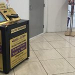 An ATM where you swap your gold for cash
