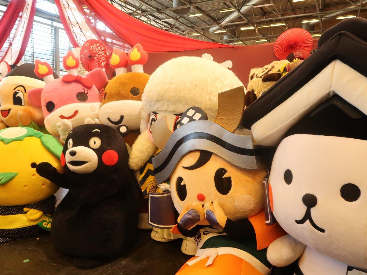 #japanexpo では、たくさんのキャラクターのおともだちにもあえたよぉ♪(●>ㅅ<●ノノ゙日本でもなか