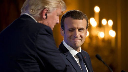 The Latest: In Paris, Trump tweets GOP on health care bill