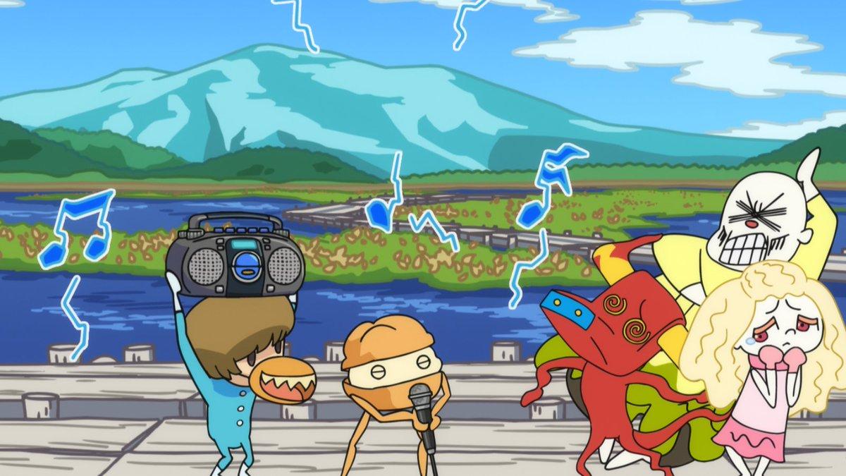 スキヤキフォース第21話は「夏が来れば、尾瀬バトル!」尾瀬にやってきたスキヤキフォースたち、水芭蕉がとてもきれいな季節だ
