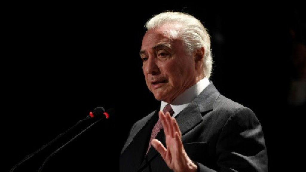 Lawmakers back quashing graft trial of Brazil President Temer
