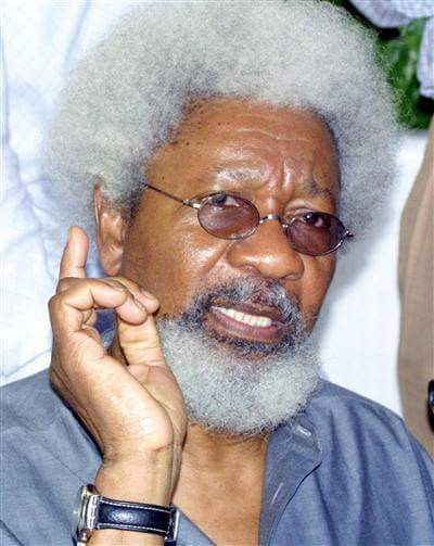 Happy 83rd birthday to our own Prof. Wole Soyinka.  Cheers!