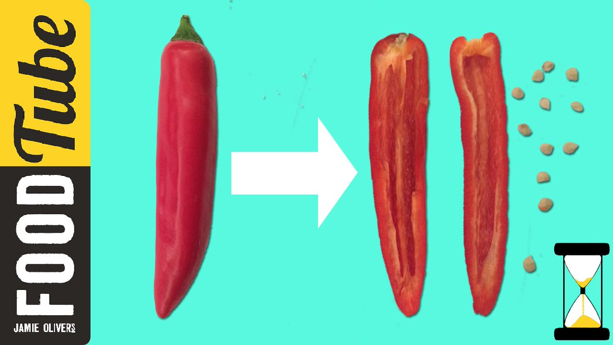 De-seed a chilli in one minute flat???? Who saves the seeds & grows their own? ???? https://t.co/WwTN7KAAB6