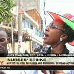 Nurses in Kisii, Murang'a and Bungoma demand action on CBA