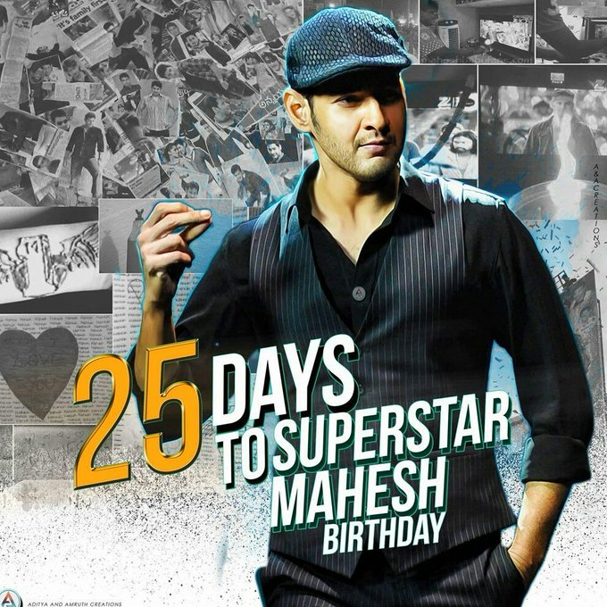 Wishing Advance Happy Birthday to Super Star 25  Days To Superstar Birthday