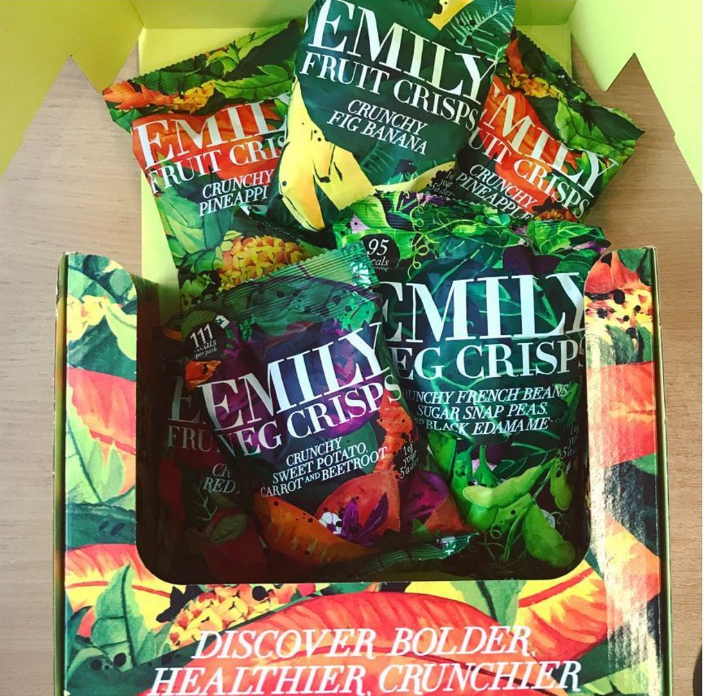 Fancy winning a MONTH'S supply of delicious @Emily_Crisps ?! ? You can, HERE: