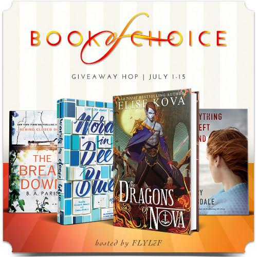 July 2017 Book of Choice Giveaway Hop