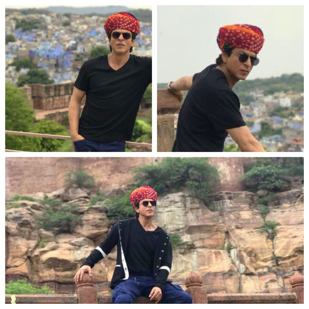Taking my job as a guide seriously…started with a tour of Mehrangarh Fort one of the largest in India. Khamma Ghani https://t.co/yMoQQAf32S