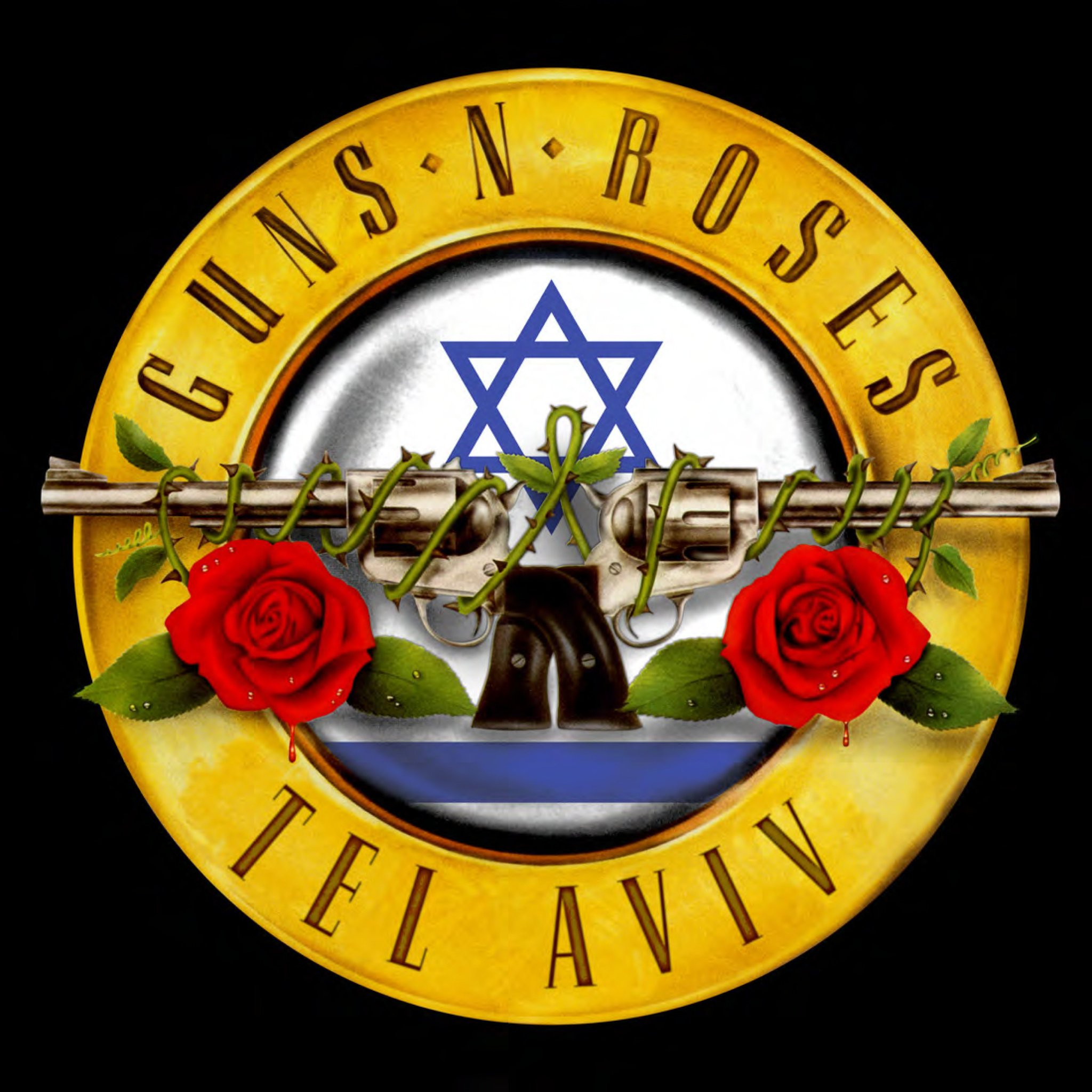 Last stop is Tel Aviv... #GnFnR #NotInThisLifetime Tour 2017 https://t.co/f05rtcQFaU