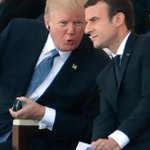 Live: Trump attends Bastille Day military parade as French visit continues