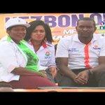 Raila Odinga drums up support for Nairobi governor Evans Kidero