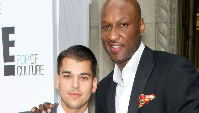 Lamar Odom has some advice for Rob Kardashian amid the Blac Chyna drama: