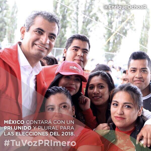 Con diálogo e inclusión, nuestro partido avanza a paso firme rumbo al 2018. #TuVozPRImero en la #XXIIAsambleaPRI. https://t.co/K2lTTJIrNs