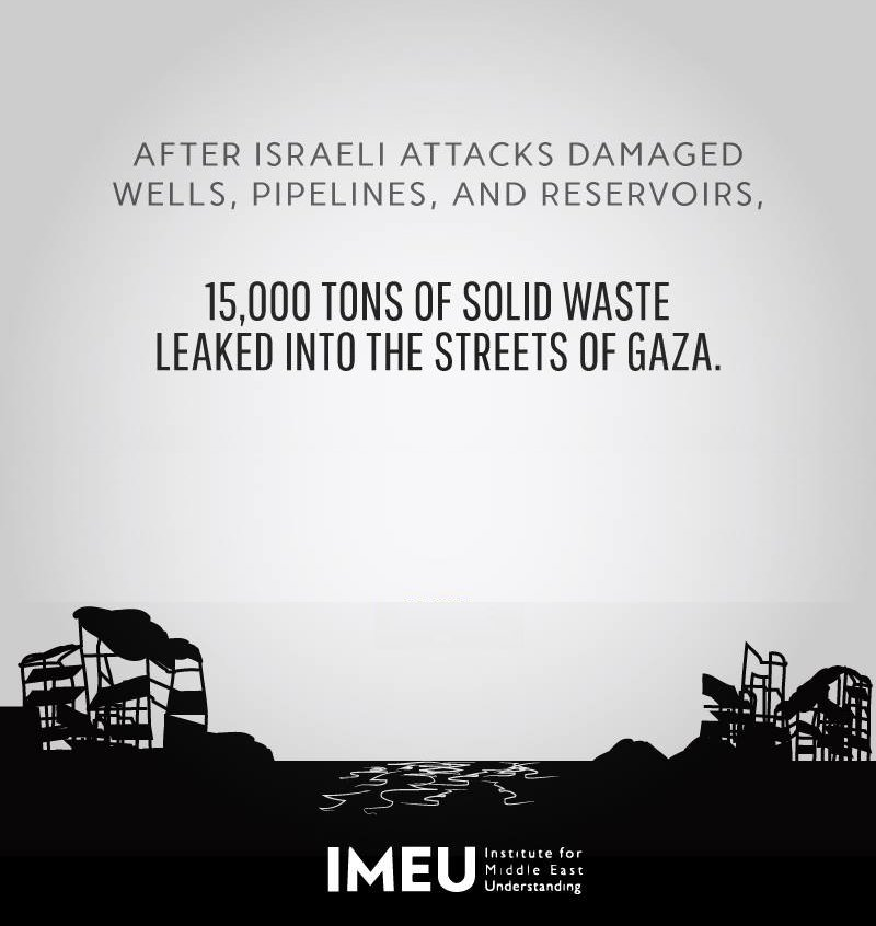 Israel's attacks on Gaza over the summer of 2014 caused extensive damage to its water and sewage systems. https://t.co/mDIsdWfbNf
