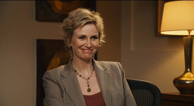 New happy birthday shot What movie is it? 5 min to answer! (5 points) [Jane Lynch, 57]