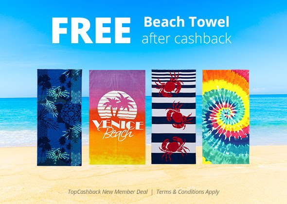FREE Beach towel at Walmart! Details here: , 2017 freebie deal