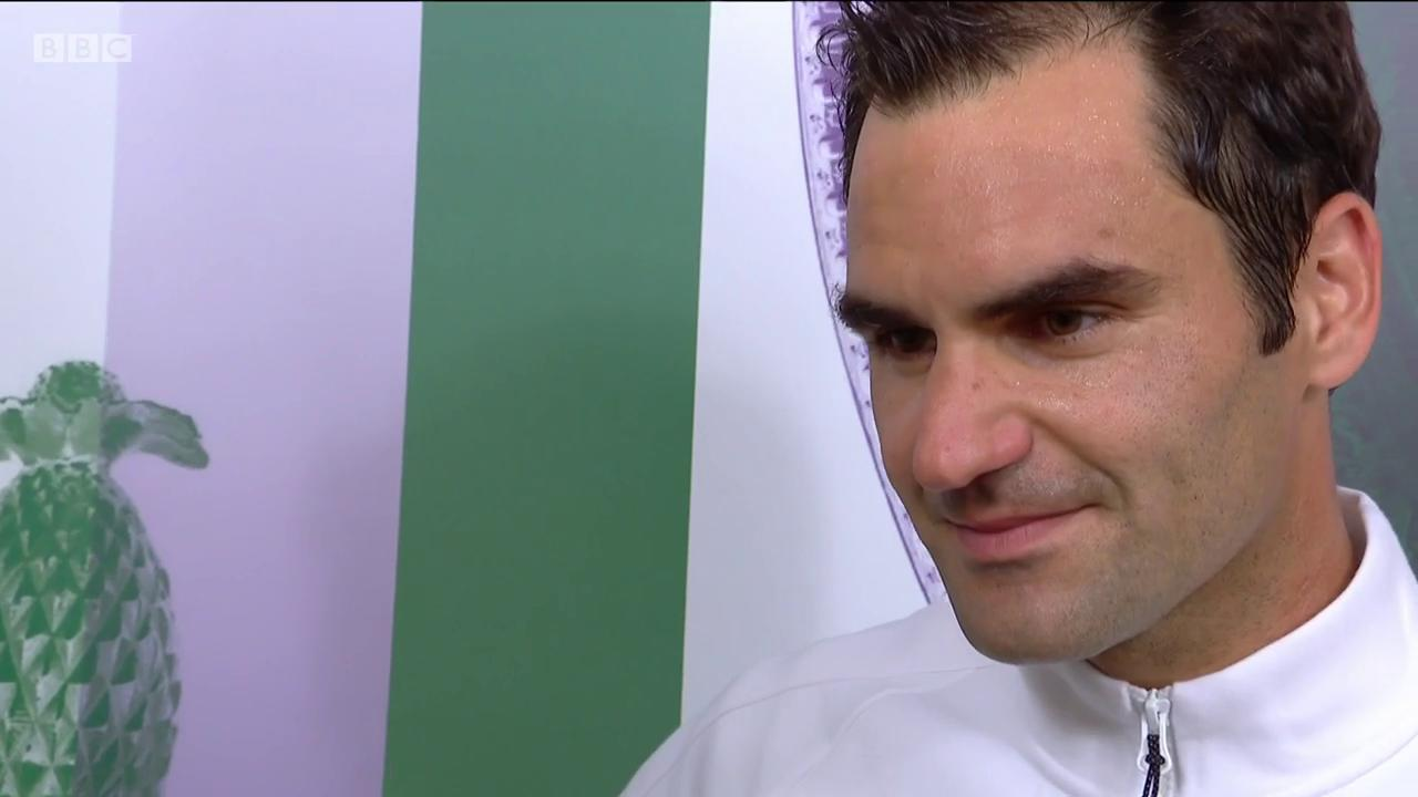 'I'm happy it's paying off'  Let's not forget Roger Federer took SIX MONTHS off this year.  #Wimbledon #bbctennis https://t.co/nRMEdfnGgZ